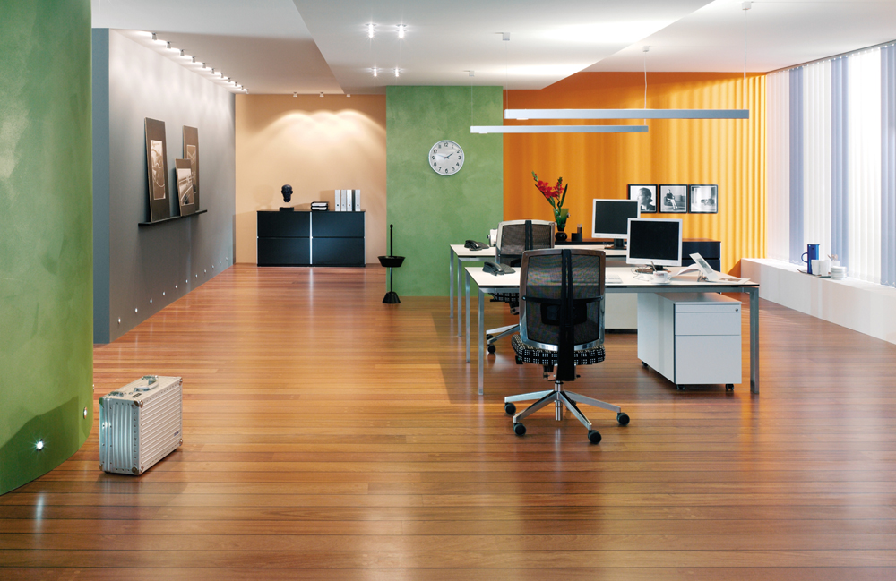 Fertige Renovier und Maler Arbeiten eines Büro Raumes | Ihr Maler Recklinghausen